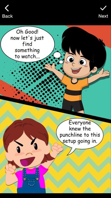 Comic Cartoon Story MakerCaptura de pantalla de2