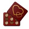 أخبر الحب مع الشوكولاته