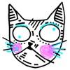 Drawn Cat - Emoji and Stickers