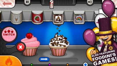 Screenshot for Papa's Cupcakeria To Go! in Portugal App Store
