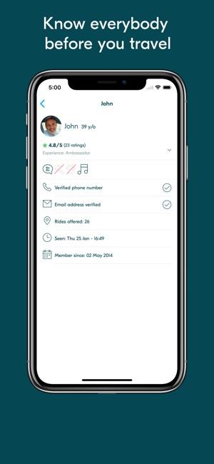 Blablacar Trusted Carpooling On The App Store