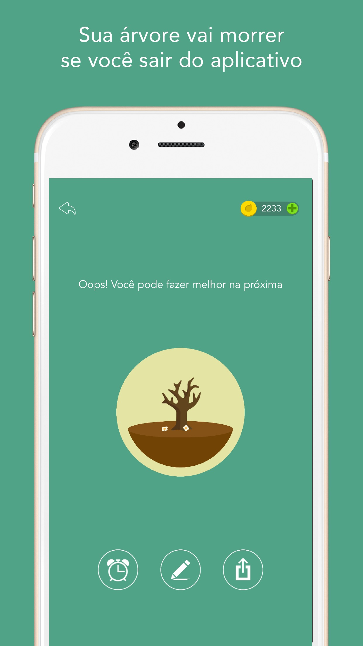 Screenshot do app Forest - Mantenha o foco