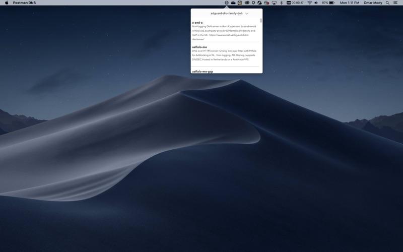 Rocket DNS скриншот программы 2