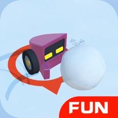 Activities of Snowmobile Battle-fun snowball