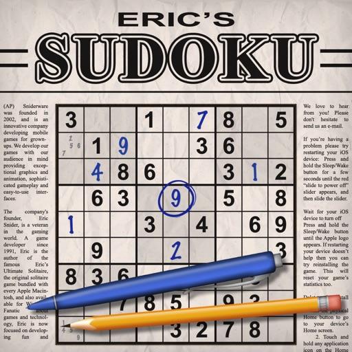 Eric's Sudoku –Classic Puzzles