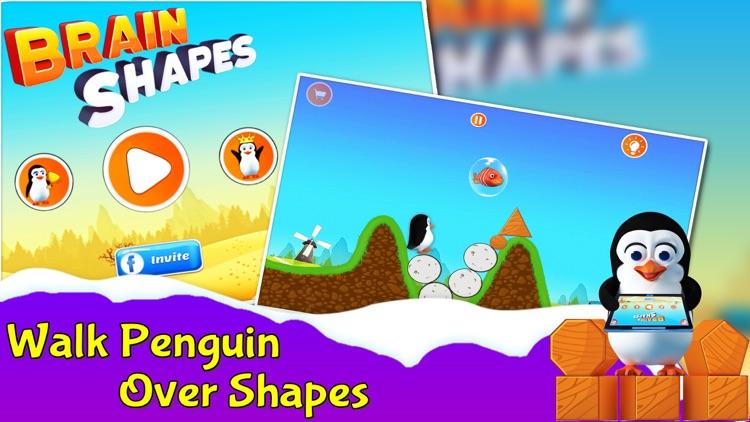Brain Shapes - Feed Penguins