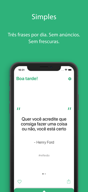 Frases Na App Store
