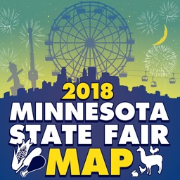 Minnesota State Fair Map 2018