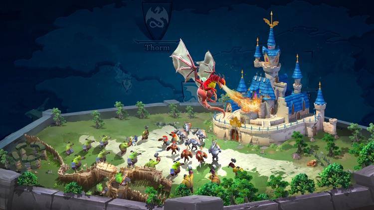 Sky Kingdoms: Dragon War screenshot-4