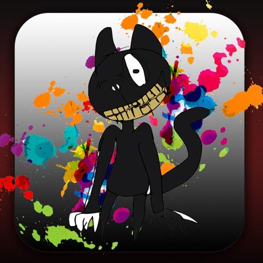 Coloring Cartoon Cat Fanart By Abdelhadi Lmezouri