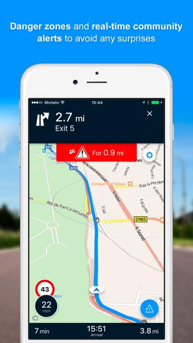 Viamichelin Gps Route Planner By Viamichelin Ios United Kingdom