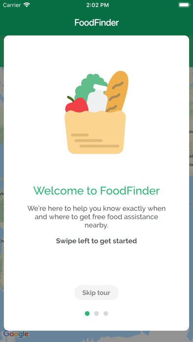 FoodFinder - Fighting Hunger screenshot