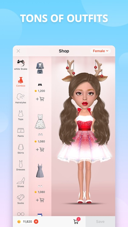 Myidol · 3D Avatar Creator screenshot-3