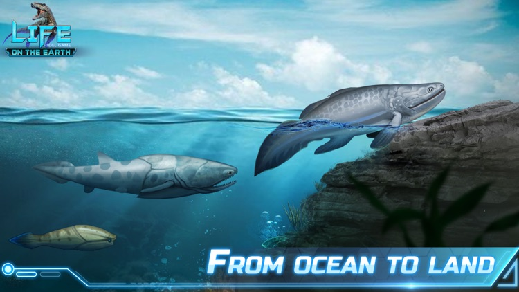 Idle evolution: Life on Earth