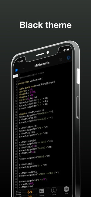 Pico Compiler - Java 9 IDE JDK on the App Store