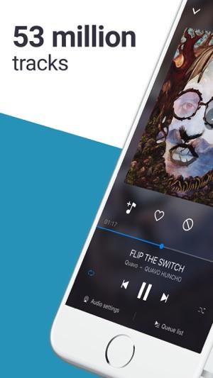 musica da deezer su iphone