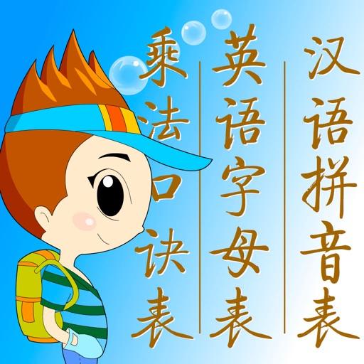 汉语拼音表点读 - 学前儿童宝宝必备挂图点读
