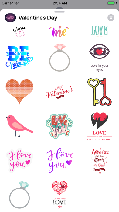 Valentines Day 2019 Stickers screenshot four
