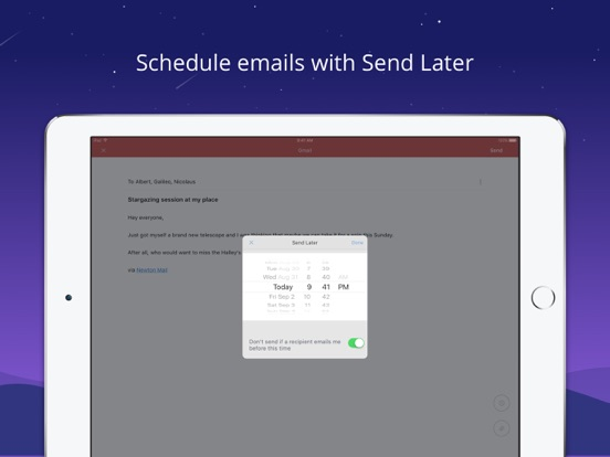 Newton Mail - Email App Screenshots