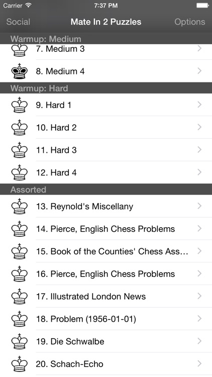 Mate in 2 Chess Puzzles