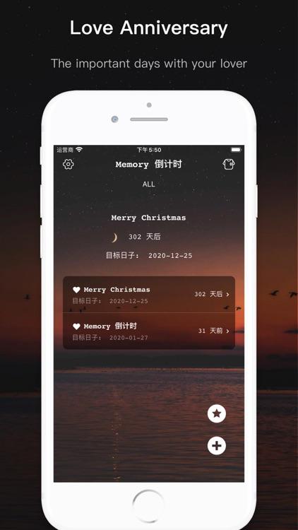 Memories - Days Countdown screenshot-3