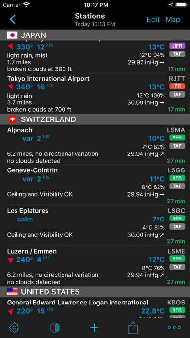 AeroWeather Pro Screenshot