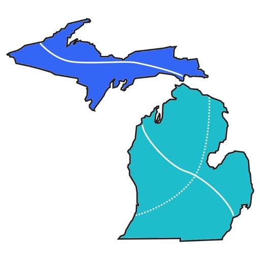 Michigan Offroad Trail Map