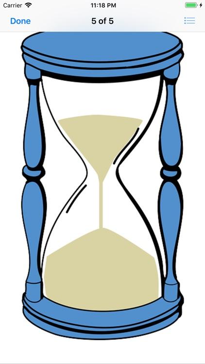 Hourglass Stickers screenshot-7