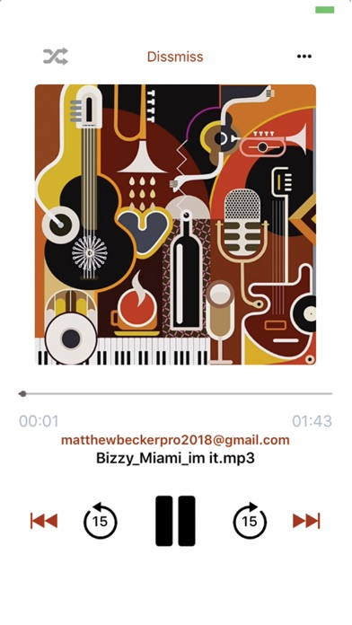 Email Music screenshot 2