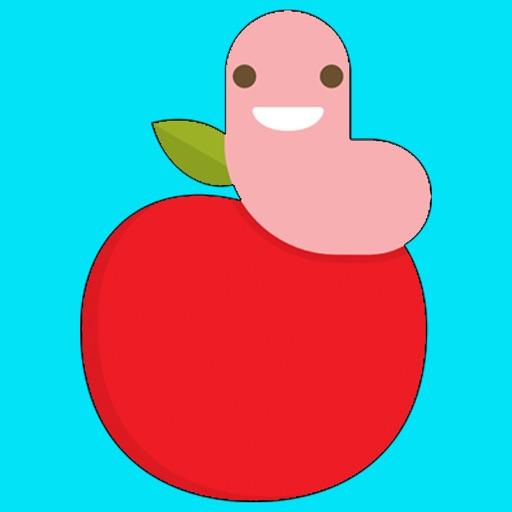 Earthworm emoji & stickers