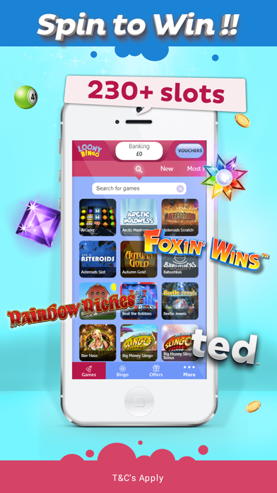 Loony Bingo - UK Bingo & Slots screenshot three