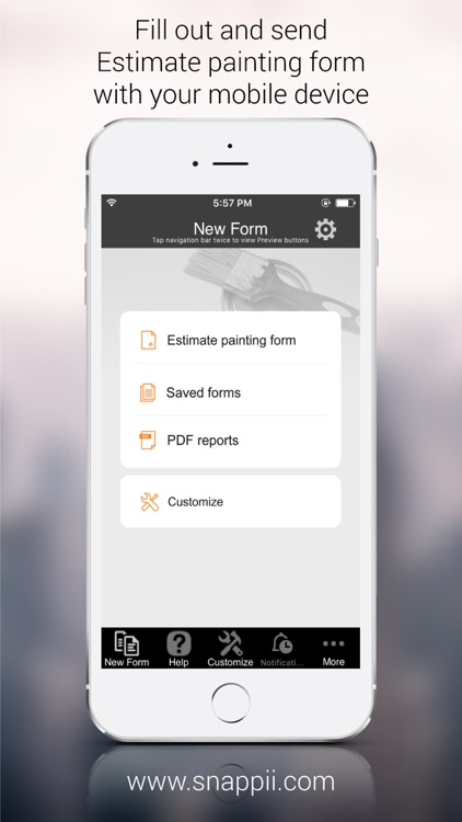 Estimate Painting Form App