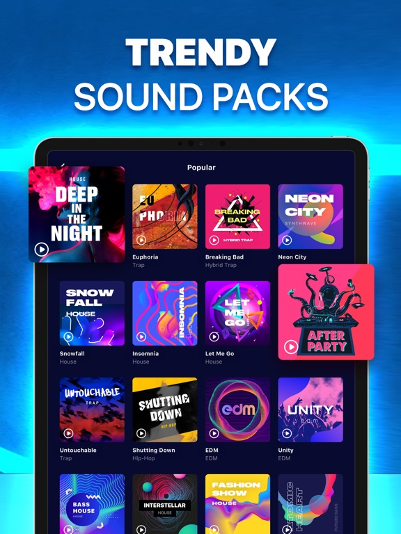 Beat Maker Go! - Make Music & Beats With Drum Pad screenshot