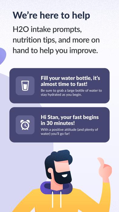 Simple: Fasting & Meal Tracker Screenshot