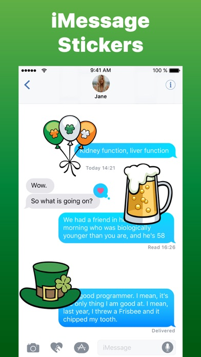 Screenshot for St Patrick's Day Irish Luck in United States App Store