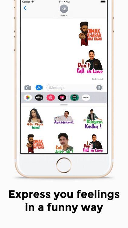 Sticker Babai: Telugu Stickers screenshot-6