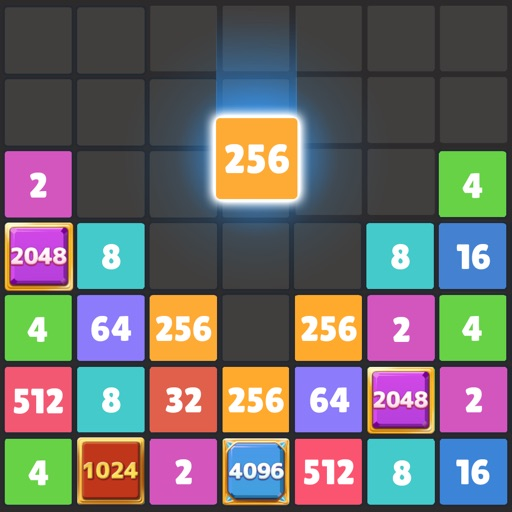 Drop The Number : Merge Puzzle free software for iPhone and iPad