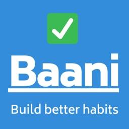 Baani- Build better habits