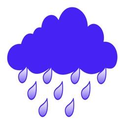 RAIN (raindrops-rain in forest