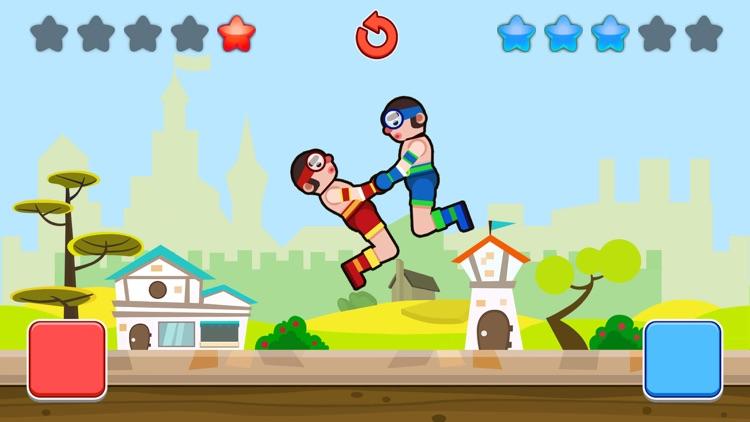 Wrestle Jump Man-Fight Club screenshot-3