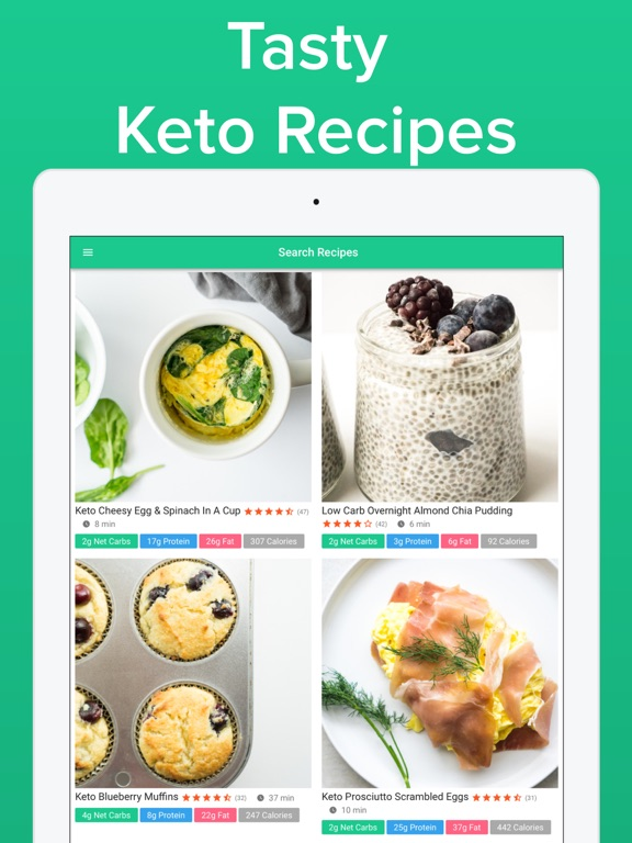Screenshot #6 pour Carb Manager: Keto Diet App