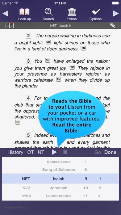 Touch Bible screenshot one