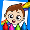 App Icon for Baby Town : Kids Coloring Book App in Peru IOS App Store