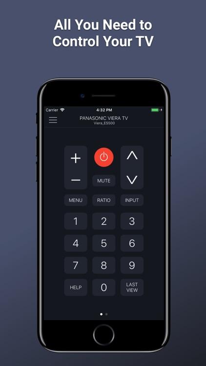 PanRC - Panasonic TV Remote