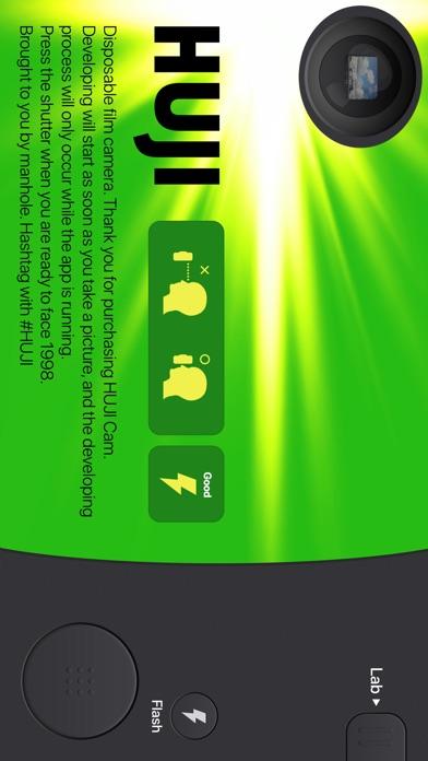 Screenshot for Huji Cam in Peru App Store