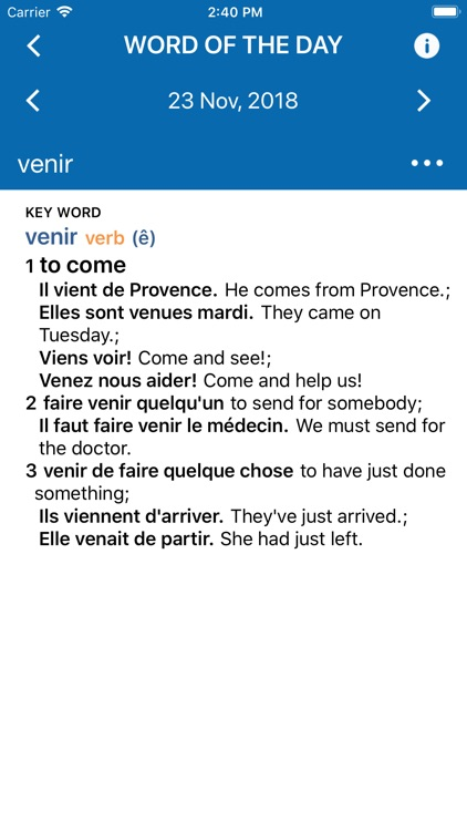 Oxford Learner's French screenshot-3