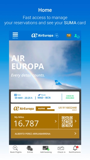 AirEuropa for mobile on the App Store