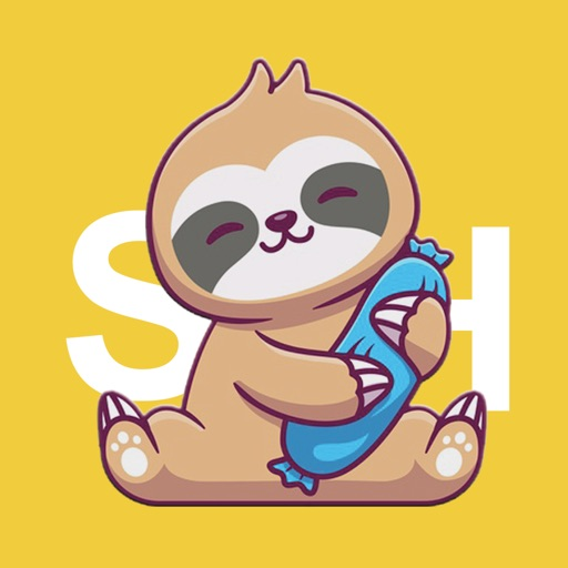 Sleepy Sloth Stickers icon