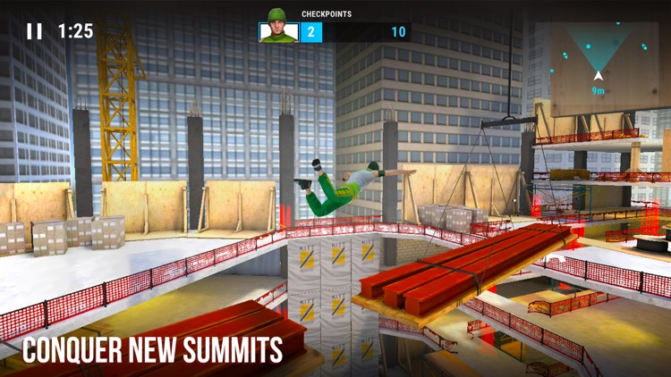 Parkour Simulator 3D: City Run screenshot-1