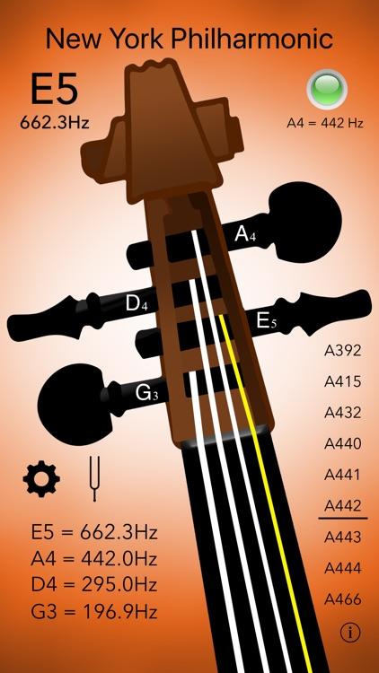 Violin Tuner Professional screenshot-4